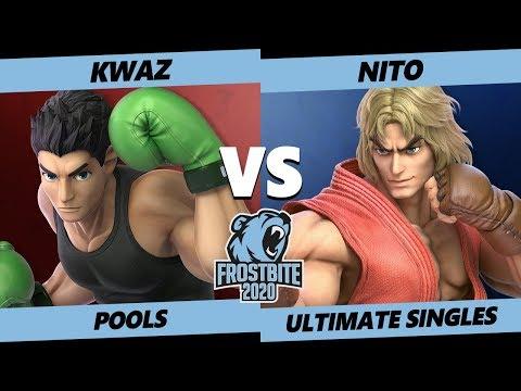 Frostbite 2020 SSBU Pools - Kwaz (Little Mac) Vs. CSE | Nito (Ken) Smash Ultimate Singles