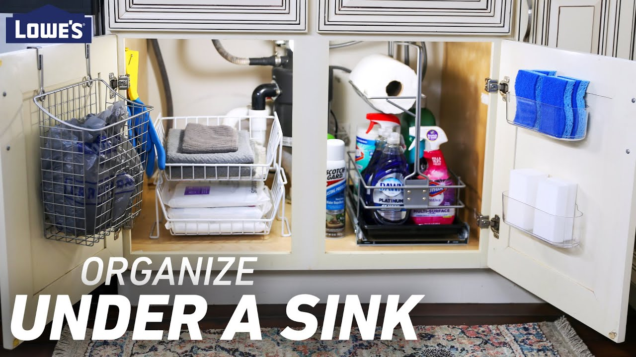 UNDER THE SINK | Storage and Organization Solutions