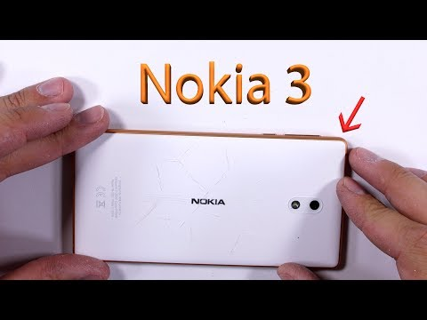Nokia 3 Passes JerryRigEverything's Durability Test