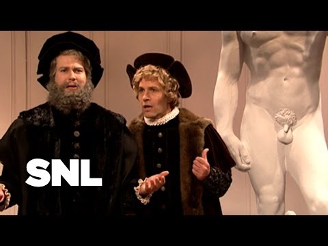 Michelangelo Unveils David - SNL
