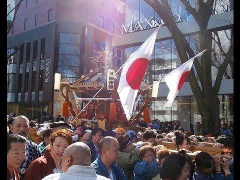 Kenkoku Matsuri - Japanese National Foundation Day Parade in Harajuku  建国記念の日