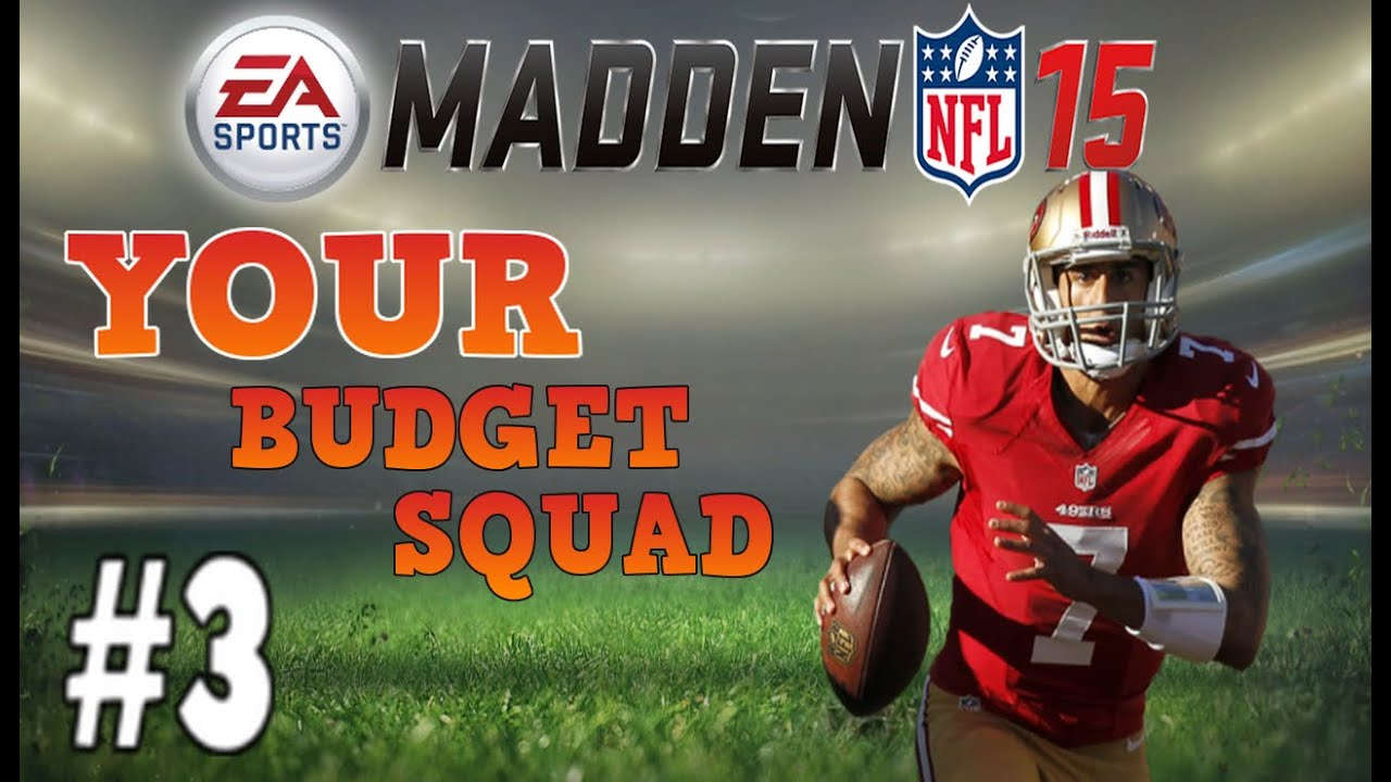 Your budget squad madden 15 ultimate team walter payton looks to end our perfect season ep - Walter payton madden 15 ...