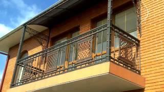 Перила 85  Металлические балконные перила Днепр фото перила для балкона ковка металла Днепропетровск(, 2016-11-04T12:37:52.000Z)