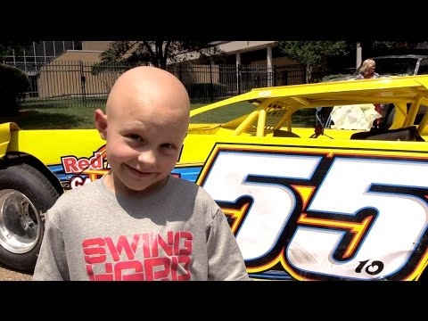 Show and Tell | Race Cars at Batson Children's Hospital