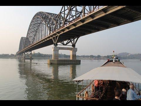 Bagan to Mandalay by Boat / Irrawaddy River Cruise