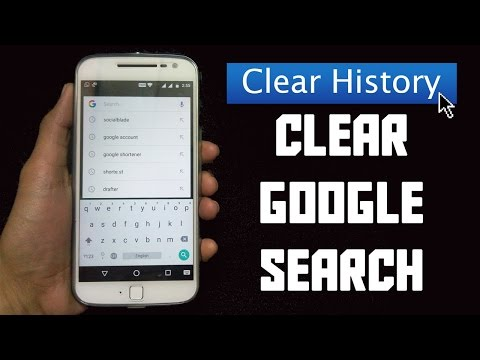 how to clear google search history on android [2017]