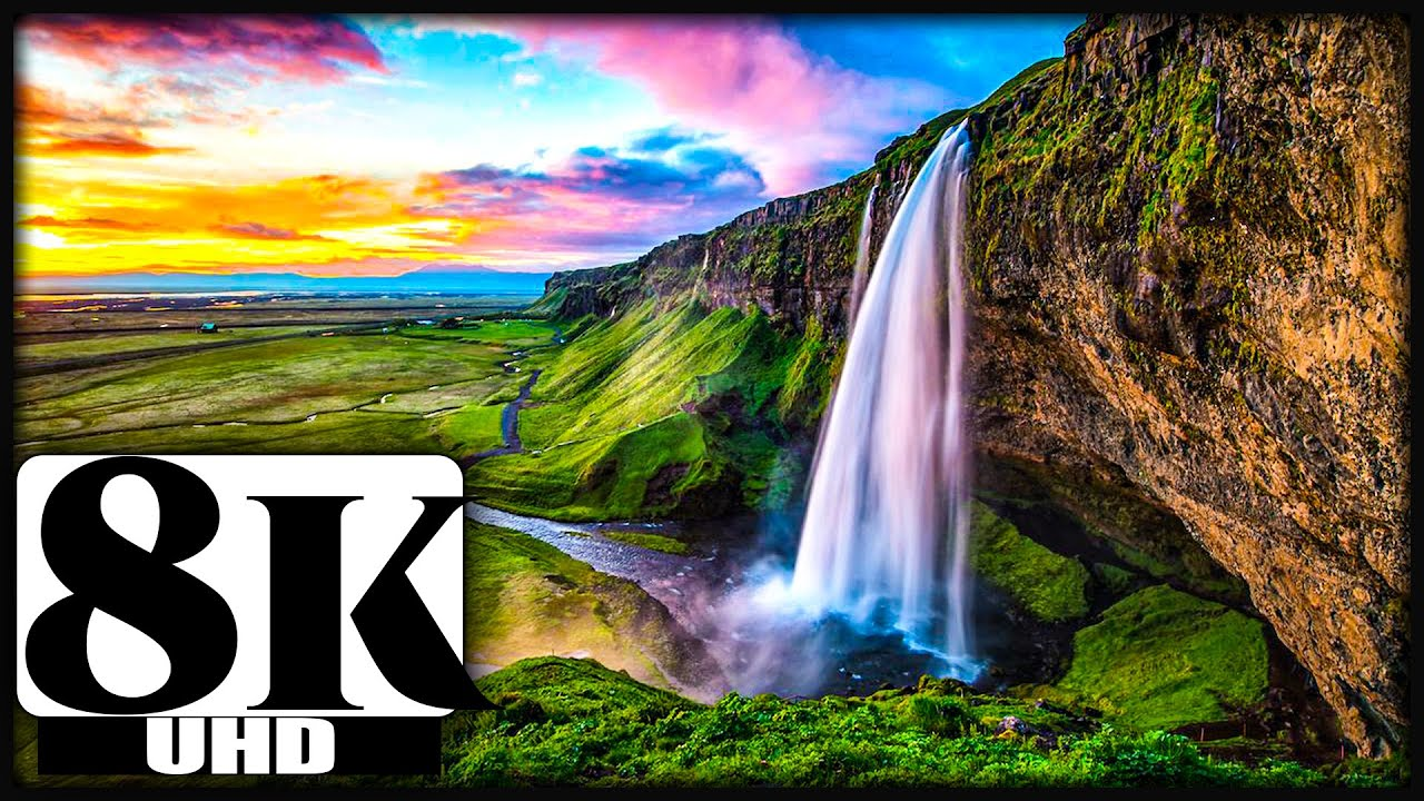 8K VIDEOS | 8K AERIAL NATURE VIDEO FOR 8K QLED AND OLED TV | 4320P VIDEO