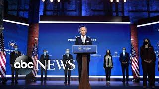 Biden unveils national security team