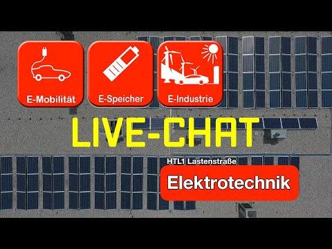 Nachschau: Elektrotechnik Live-Chat (mit AV Dr. Rüdiger Stonitsch)