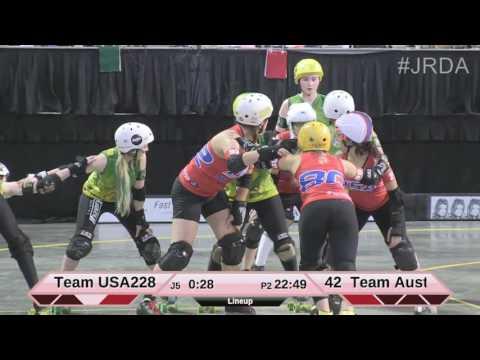 JRDA World Cup 2015 - Team USA vs. Team Australia Part 2