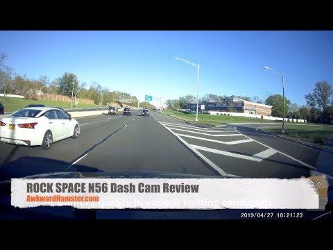 ROCK SPACE N56 Dash Cam Review