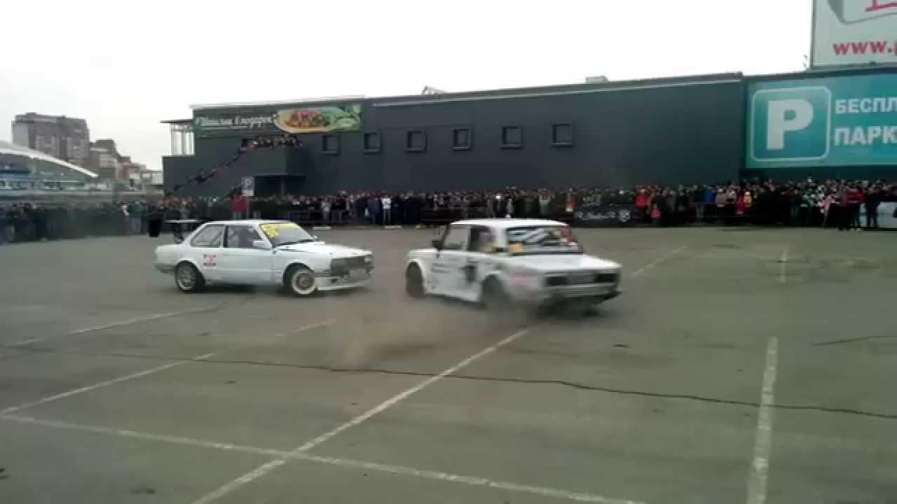 Дрифт BMW e30 и Ваз 2106 / Drift BMW e30 and Vaz 2106 Премьера .