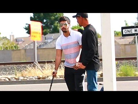 Rich VS Poor Blind Man Social Experiment