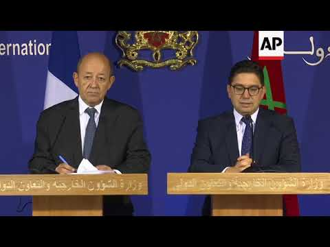 French FM meets Moroccan counterpart