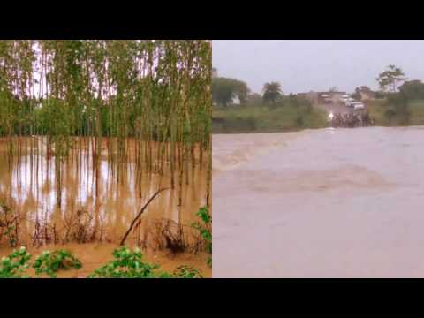 Indian Flood Rural area flood #NAINPUR FLOOD