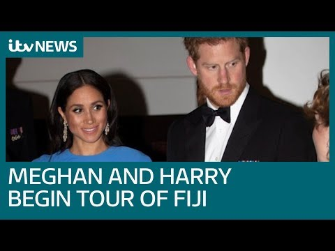 Meghan and Harry began their three-day visit in Fiji | ITV News