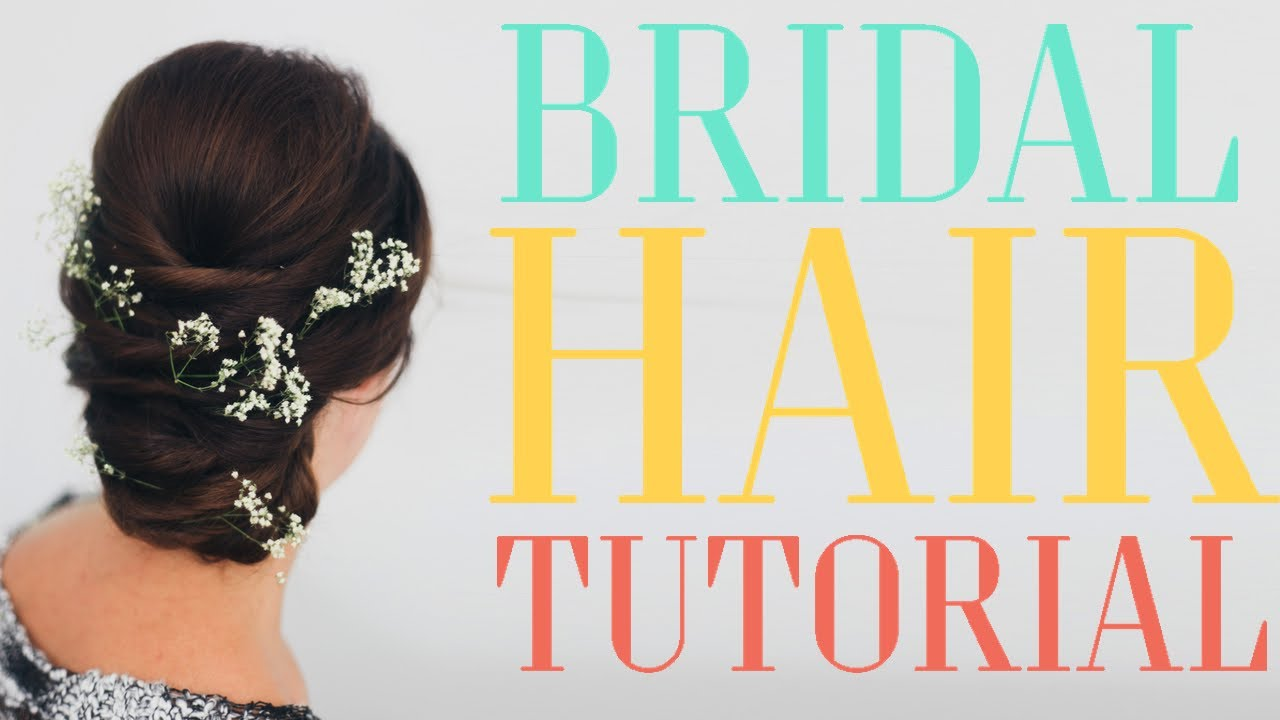 Wedding Season Updo // DIY Bridal Hair - YouTube