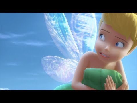 Tinkerbell breaks her wings