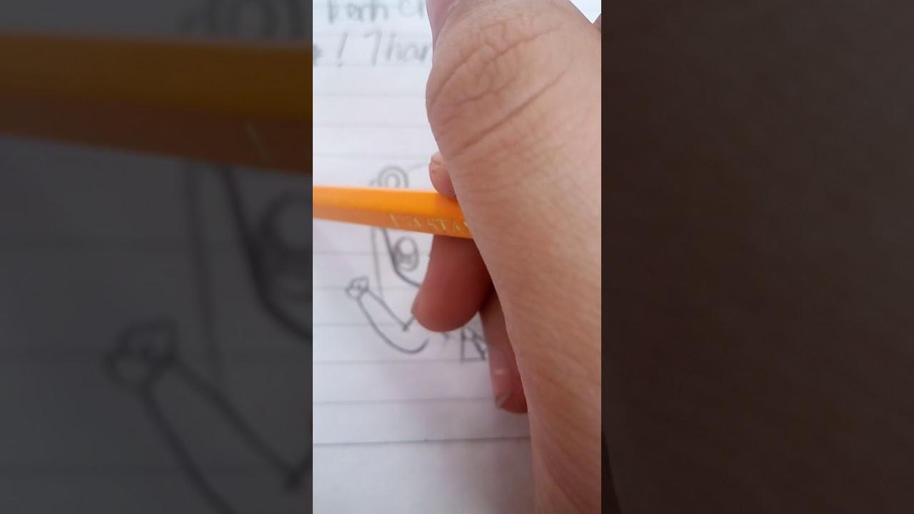 Cách vẽ chibi gấu đơn giản