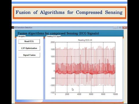 Fusion of Algorithms for Compressed Sensing Matlab Project