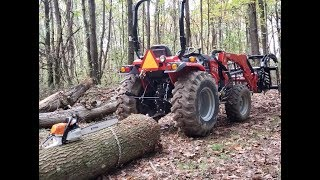 #259 Gathering Firewood, Felling, and Logging in our Forest! Plus the Equipment we use