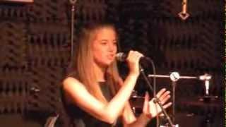 FROZEN - LET IT GO Idina Menzel LIVE cover: Mallory Bechtel