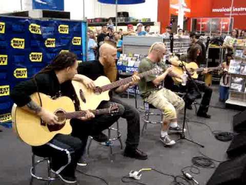 FIVE FINGER DEATH PUNCH - Acoustic - Best Buy - Orlando, FL