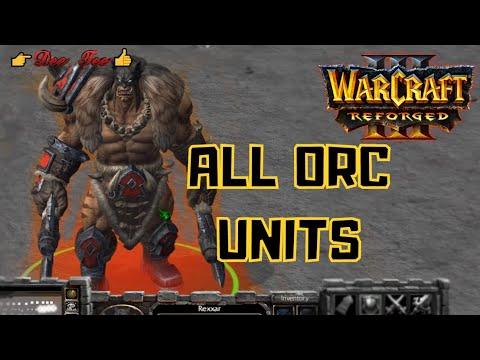 warcraft 3 orc units