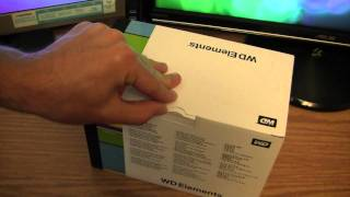 Unboxing: Western Digital 2.0TB External Hard Drive