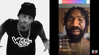 HITMAN HOLLA gets ROBBED in LA / Responds to BOSKOE revealing the news