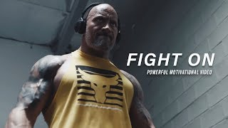 FIGHT ON - Motivational Video