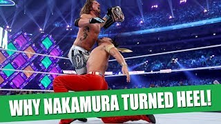 The Real Reason Why Shinsuke Nakamura Turned Heel!