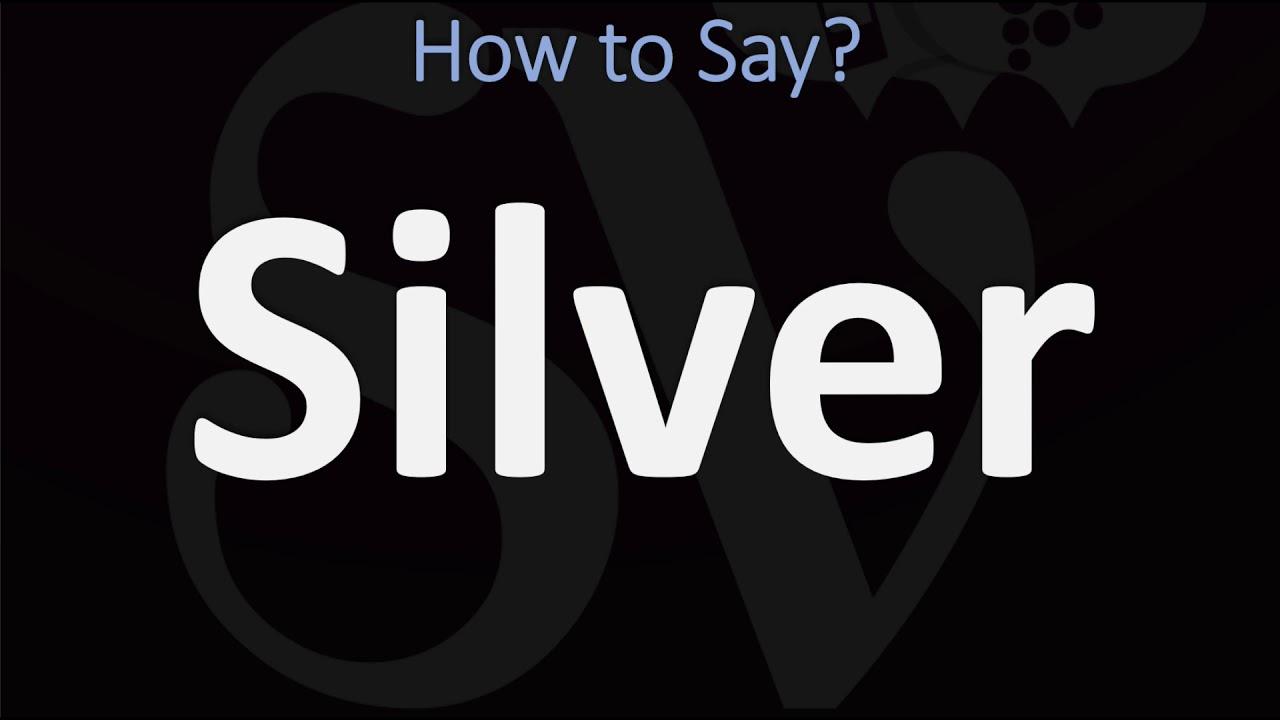 How to Pronounce Silver? (8 WAYS!) British Vs US/American English  Pronunciation
