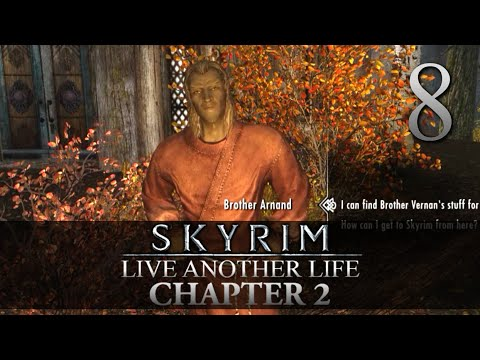 NECROMANCY TROUBLES! - Skyrim: Live Another Life Chapter 2 Let's Play 8 (Skyrim/Mods/PC)