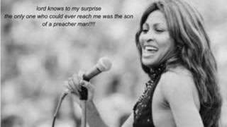 Tina Turner -- Son of a preacher man