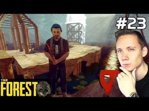 The Forest PL Gameplay [#23] DOMEK na WODZIE /z Paweł