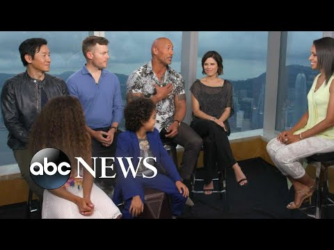 Dwayne 'The Rock' Johnson on why 'Skyscraper' and its family focus was special to him