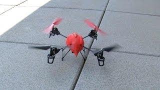 (4 dk)İnanılmaz Hava Fotoğrafları Yapmak için bir Oyuncak Drone Kullanma