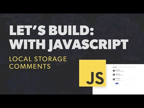 How to use Local Storage with JavaScript thumbnail