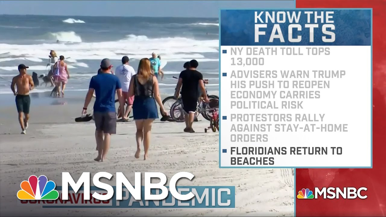 Coronavirus: Florida Reopens Some Beaches As COVID-19 Cases ...