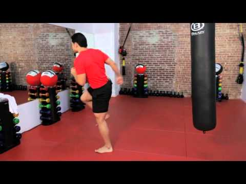 How to Do a Back Kick  Kickboxing Lessons  Howcast