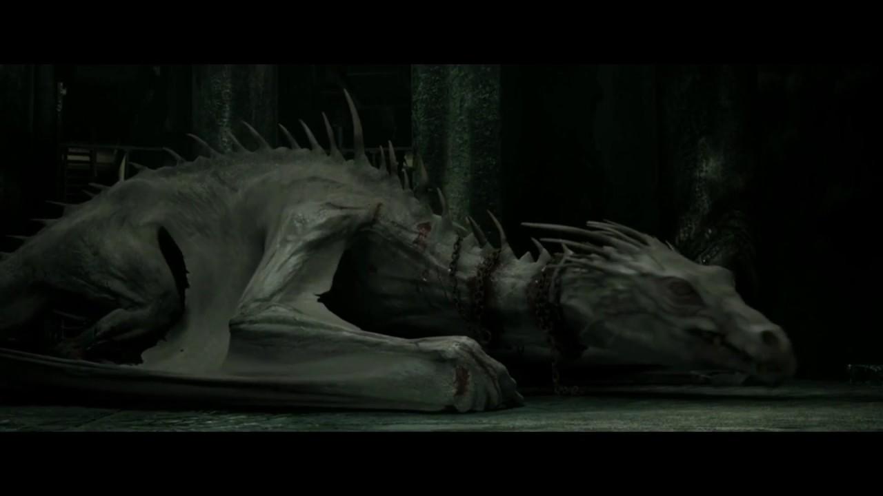 Harry Potter: All Dragon Scenes - YouTube