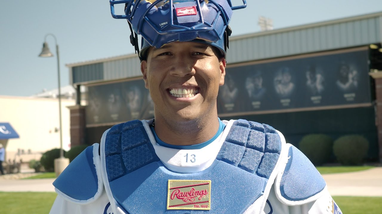 Game on closeouts sporting goods - Salvador Perez Talks To Rawlings Sporting Goods About How To Keep The Game Fun