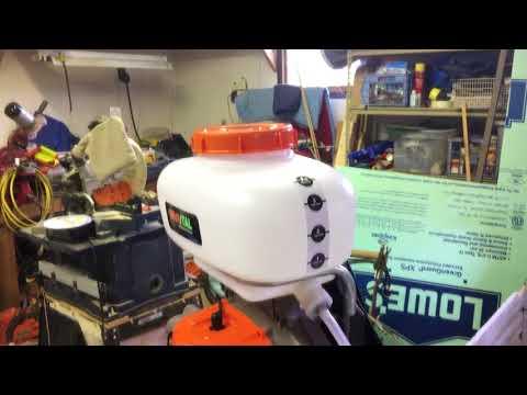 Invatech Italia model 868 Mister Duster Blower box opening
