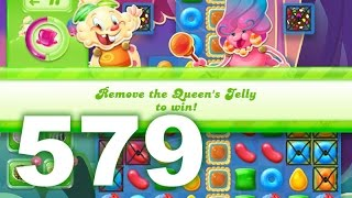Candy Crush Jelly Saga Level 579 (3 star, No boosters)