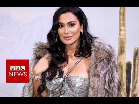 Huda Kattan: The makeup world Celebrity  - BBC News