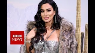 Huda Kattan: The makeup world Celebrity  - BBC News