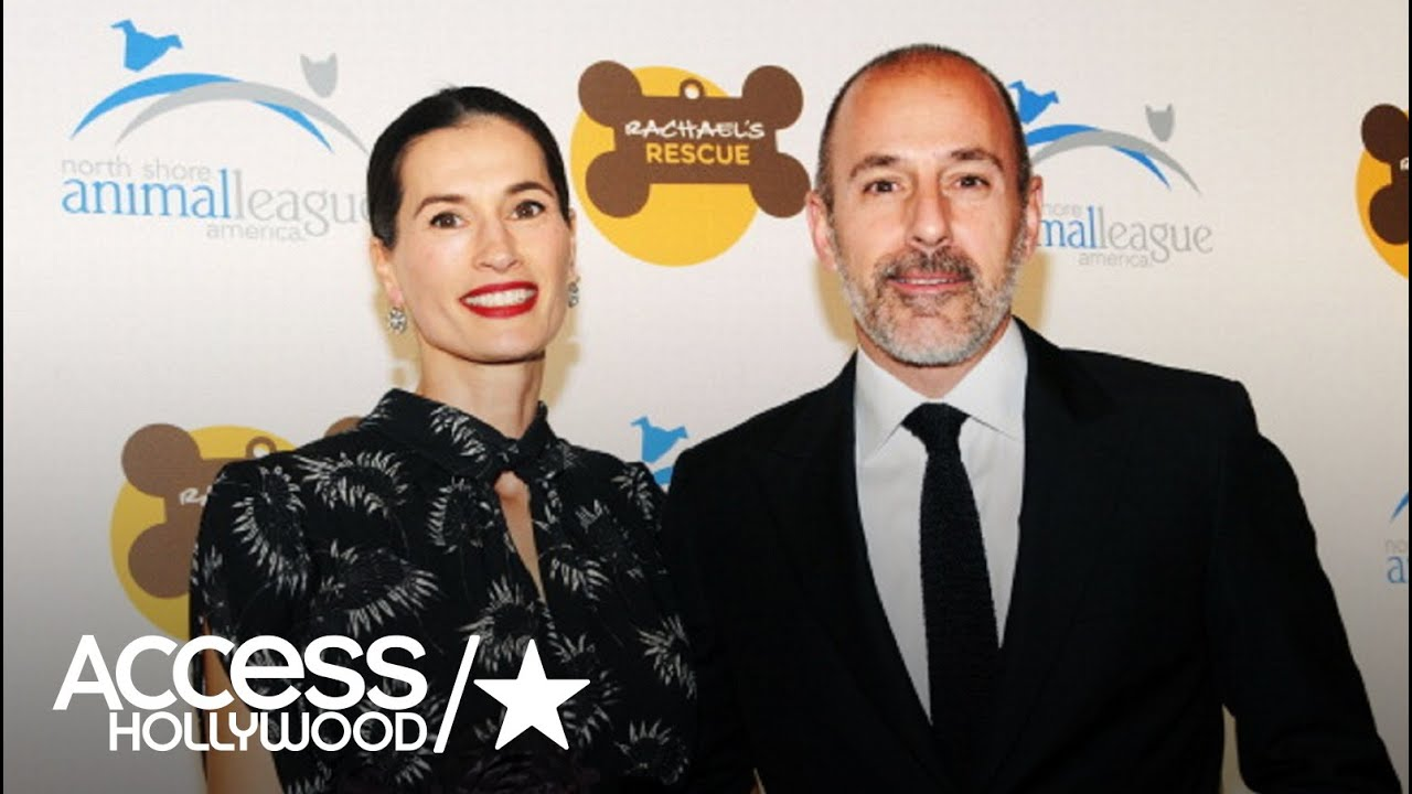 who is matt lauer s wife annette roque access hollywood