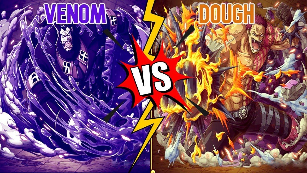 Download 💀 Venom 💀 VS 🍩 Dough 🍩 - Blox Fruits
