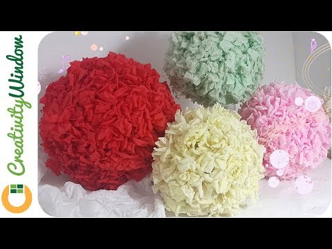 Cheaper than you think paper flower ball youtube cheaper than you think paper flower ball mightylinksfo